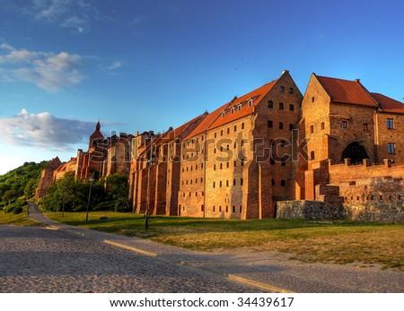 Polish castle Zdjęcia stock ©