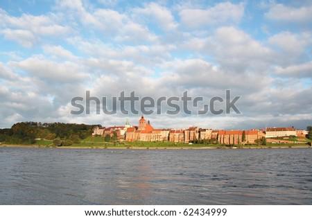 Polish castle in Grudziadz Zdjęcia stock ©