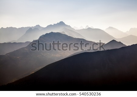 Polish Tatra mountains #540530236