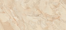 Polished beige marble, real natural marble stone texture background for limestone Italian slab marble texture and ceramic granite tile surface.
