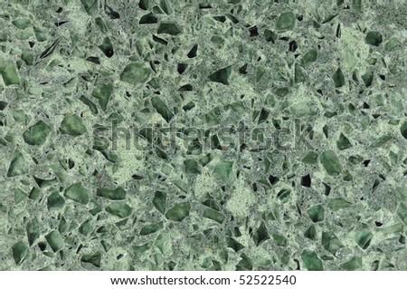 polished granite texture green