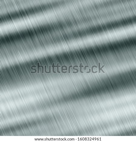 Polished metal background. Brushed metal. Seamless metal texture. Steel. Reflection surface.