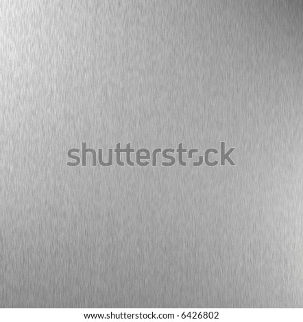 Polished metal plate, abstract background