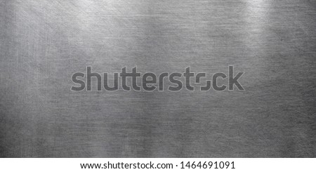 Polished metal texture, brushed stainless steel texture #1464691091
