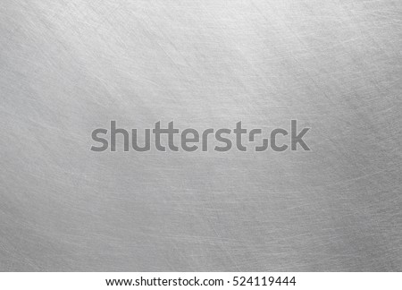 Polished metal texture, steel background - Shutterstock ID 524119444