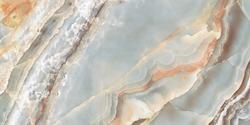 polished onyx marble with high resolution, Aqua tone emperador natural breccia stone agate surfaces, exotic semi precious Onice modern Italian marbel, quartzite structure slice mineral macro closeup.