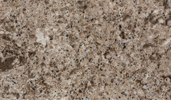 Polished quartz surface.The cut stone