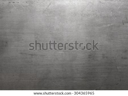 Polished steel texture - Shutterstock ID 304365965