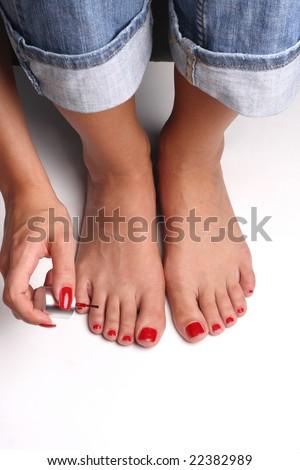 Nail Polish On Hands