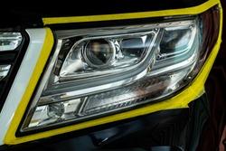 Polishing the optics of car headlamps ,Effect After the effect of polishing