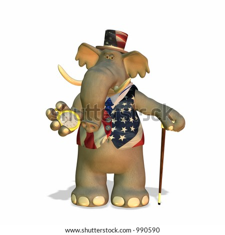 Political Elephant Can be used to represent the Republican Party