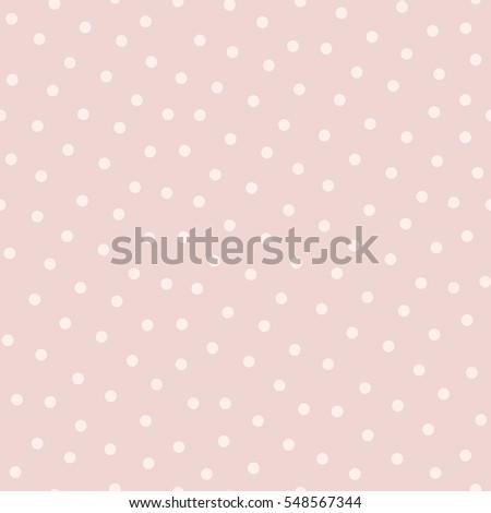 polka dot seamless pattern in...