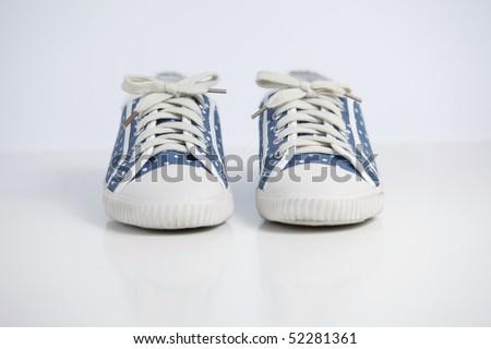 Polka dot shoe #52281361