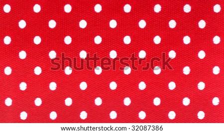 Polka dot trim - stock photo