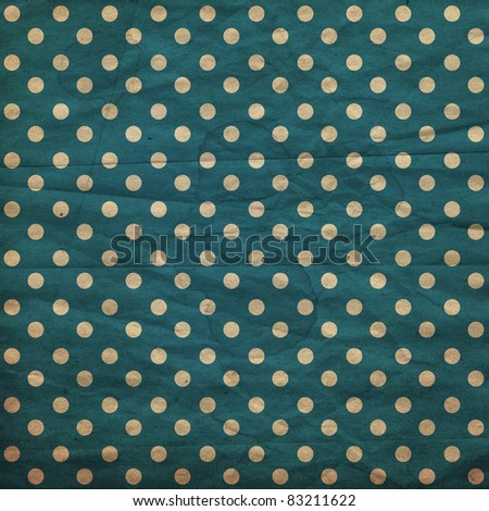 polka dot vintage pattern, dark blue