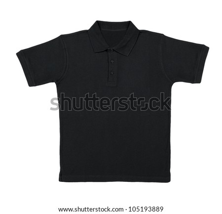 polo shirt isolated on white background