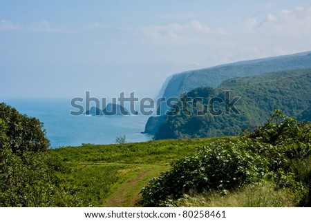 Pololu Valley on Hawaii's Big Island