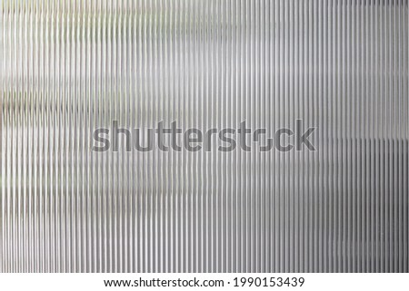 polycarbonate plastic background and texture. Transparent material Corrugated plastic surface use for partition wall or roofing. Сток-фото ©