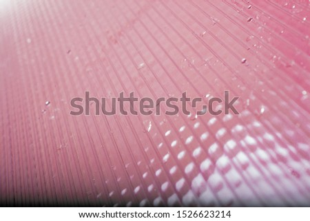 polycarbonate sheet surface. surface and texture.