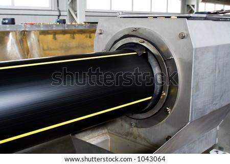 polyethylene pipe extruder