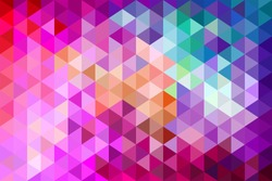 Polygon. Colorful modern low poly abstract background