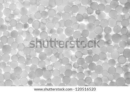 Polystyrene foam texture, show detail