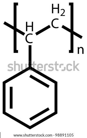 Polystyrene Structural Formula