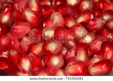 Pomegranate seeds #734206081