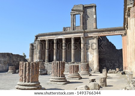 Pompeii, ancient city of Rome