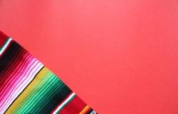 poncho Mexican cinco de mayo rug serape fiesta traditional Mexico Mexican poncho serape background with stripes pattern copy space maya blanket minimal simple backdrop -  mayo stock, photo, photograph