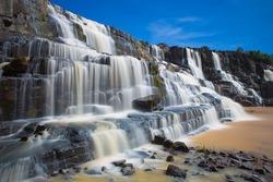 Pongour Waterfall is waterfall famous and most beautiful of fall in Dalat , Distance from Dalat city estimate 45 Km. Dalat city Vietnam