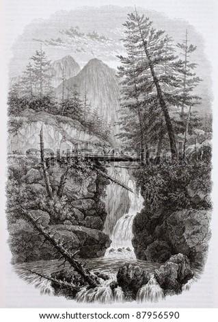 pont d'espagne old view ...