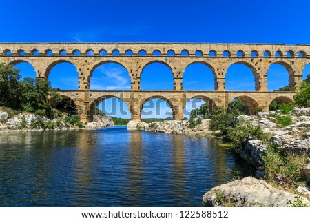 How Old Is The Aqueduct At Nimes 21