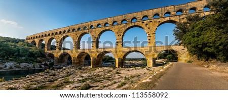 Pont du Gard, Provence, France