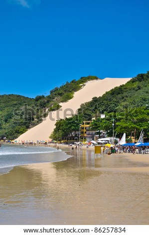 Ponta Negra beach in Natal city - Brazil