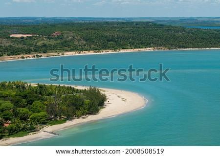 Pontal de Maria Farinha beach, near Recife, Pernambuco, Brazil on March 10, 2010. Foto stock ©