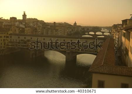 ponte vechio bridge in florence