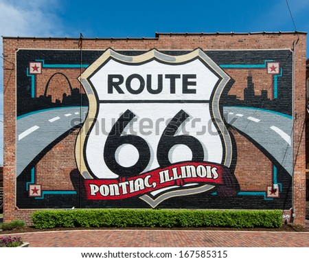 pontiac  il usa   may 5  route...