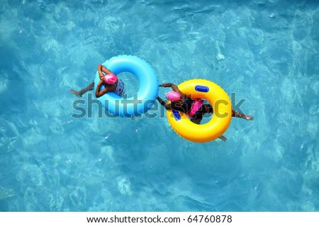 Pool Float / pool rings, room for your text
