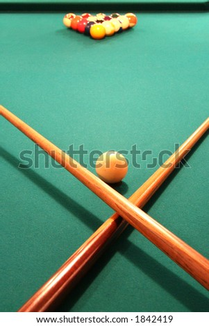 Pool Table Ready to Play