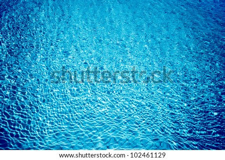 Pool water abstract background, cold fresh natural backdrop, rippled texture and pattern, blue swimming pool seamless surface, summer travel vacation and leisure concept