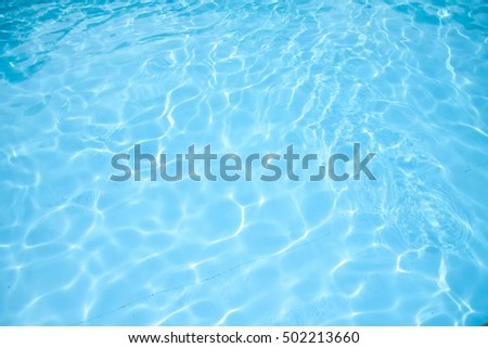 Pool water background - Shutterstock ID 502213660