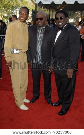 Pop group THE O-JAYS at the 16th Annual Soul Train Music Awards in Los Angeles. 20MAR2002.   Paul Smith / Featureflash