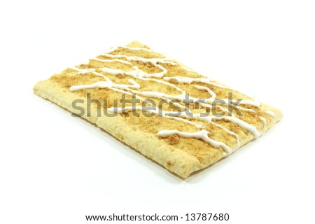 Pop Tarts for the Toaster to Be Baked Isolated