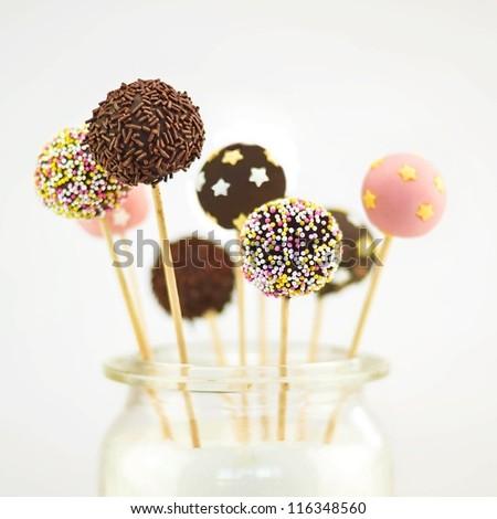 Popcake - stock photo