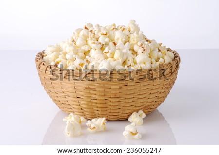 Popcorn,Bowl of fresh popped popcorn ,Bowl of popcorn,