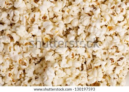 Popped Popcorn Texture