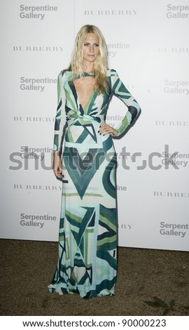 Poppy Delevigne attends the Burberry Serpentine Summer Party, at the Serpentine Gallery, London. 28/06/2011  Picture by: Simon Burchell / Featureflash