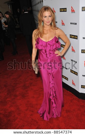 Poppy Montgomery at the 2010 G'Day USA Australia Week Black Tie Gala at the Grand Ballroom at Hollywood & Highland. January 16, 2010  Los Angeles, CA Picture: Paul Smith / Featureflash