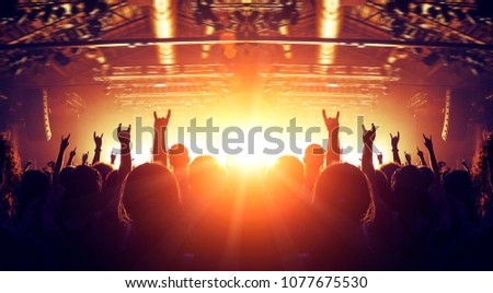 Popular music concert #1077675530